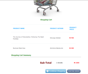 Your Cart