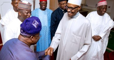 Seven Governors Paid Courtesy Visit To Muhammadu Buhari In London