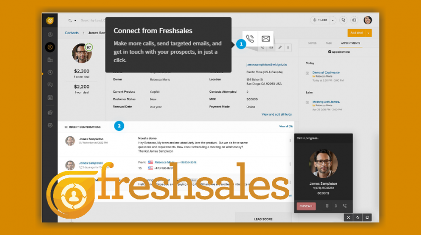Freshdesk Introduces Freshsales, CRM With Something Extra