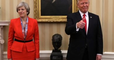 Theresa May Says Trump Advised Her To 'Sue The EU'