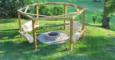 DIY: Learn From A Dad Who Built The Ultimate Backyard Hangout