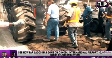 SEE HOW FAR LAGOS HAS GONE ON OSHODI, INTERNATIONAL AIRPORT, OJOKORO ROADS RE-CONSTRUCTION