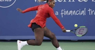 Serena Williams ruthless in Cincy, Murray ousted