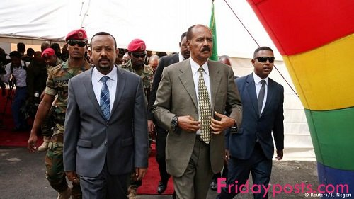 Ethiopia Opens Embassy In Eritrea Fridayposts Com Nigeria Breaking News Review Website