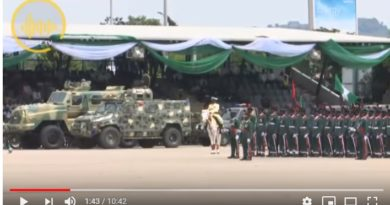 Nigeria Military Displays Local Fabricated Equipment @ 58 Anniversary